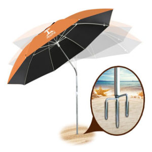 AosKe Portable Sun Shade Umbrella Inclined Heat Insulation