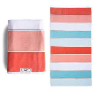 Caro Home Maya Beach Towel Cotton