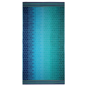 Cotton Craft XL Woven Velour Cotton Beach Towel