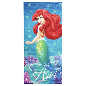 Jay Franco Disney Mermaid Ariel Cotton Beach Towel