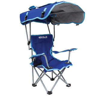 Kelsyus Outdoor Kids Beach Chair with Canopy