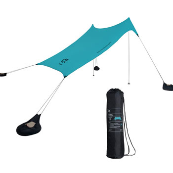 Neso Tents Portable Beach Canopy Sunshade with Sand Anchor