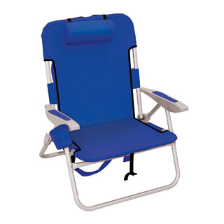 Rio Big Boy Portable Backpack Beach Chair