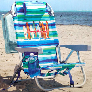 Tommy Bahama Backpack Beach Chair 5-Positions