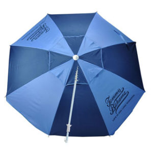 Tommy Bahama Fiberglass Beach Umbrella with Sand Anchor