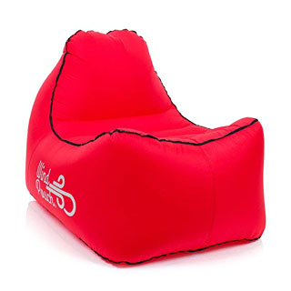 WindPouch Chill Inflatable Beach Chair