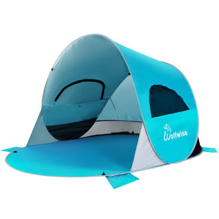 WolfWise Pop Up kids Beach Tent