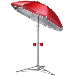 Wondershade Portable Beach Umbrella with Holders