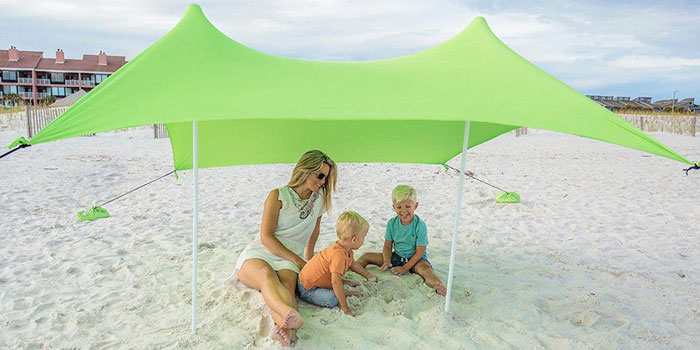 beach canopy safety tips