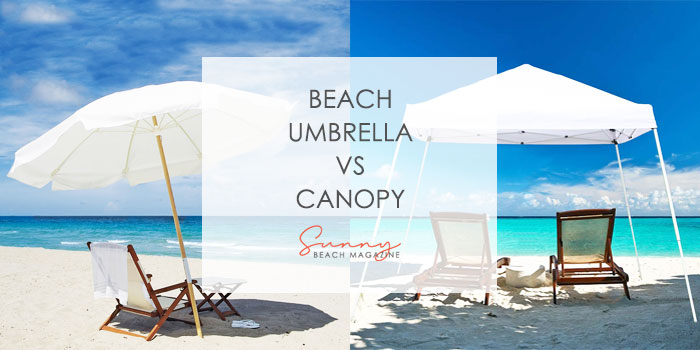 beach umbrella vs canopy