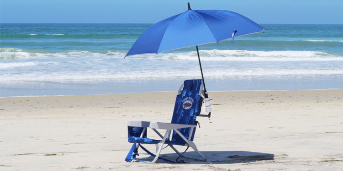 portable beach chair with canopy