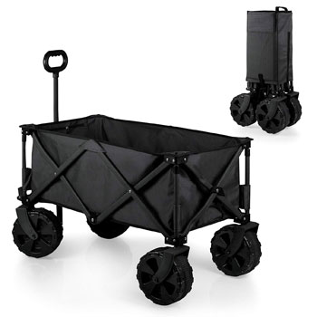 ONIVA Picnic Collapsible Beach Wagon with All Terrain Wheels for Sand