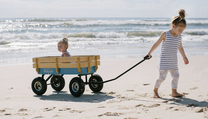 beach wagon for kids