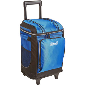 Coleman 42 Can Soft Cooler Cart with Wheels