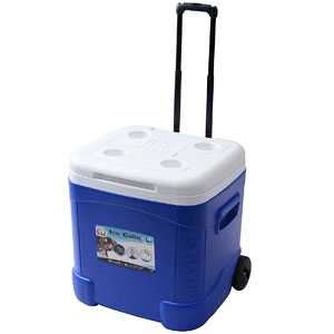 Igloo Ice Cube Roller Cooler Cart