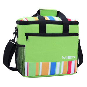 MIER 24-Can Large Capacity Soft-Beach Cooler Tote