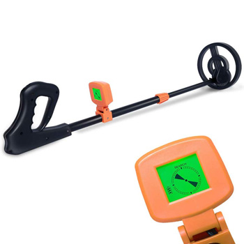 AMYSPORTS Lightweight Kids Metal Detector Beach Detecting