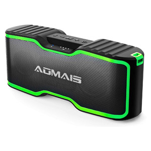 AOMAIS Sport Bluetooth Speakers Portable Outdoor Wireless Speaker