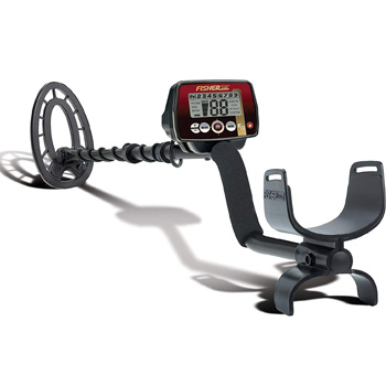 Fisher Weatherproof Metal Detector with Submersible Search Coil