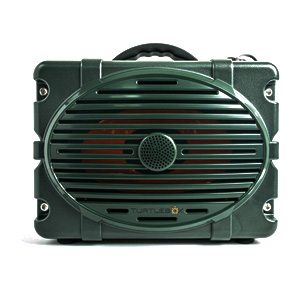 Turtlebox Outdoor Bluetooth Speaker Waterproof and Sandproof