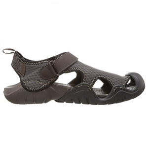 Crocs Mens Swiftwater Mesh Beach Sandals