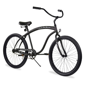 Firmstrong Bruiser Fat Tire Men Beach Cruiser Bike
