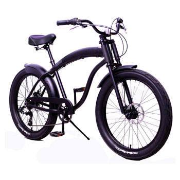 Fito 7-Speed Modena Lightweight Aluminum Beach Cruiser with gears