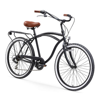 Sixthreezero Around the Block Men Electric Beach Cruiser