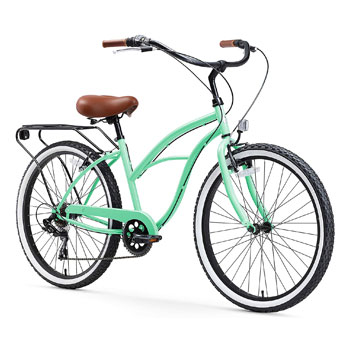 Sixthreezero Around the Block Women Electric Beach Cruiser