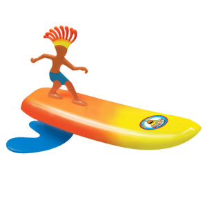 Surfer Dudes Wave Powered Beach Surfboard Toy