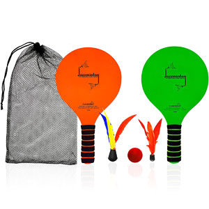 Funsparks Paddle Ball Game Jazzminton Beach for Family and Friends