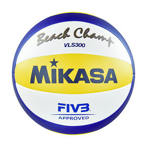 MIKASA VLS300 Beach Champ Official Volleyball Ball of The FIVB