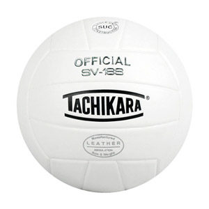 Tachikara Official SV-18S Leather Volleyball