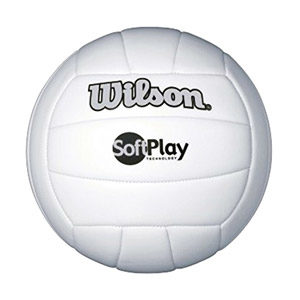 Wilson Soft Play White Volleyball