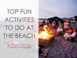 fun activities to do at the beach
