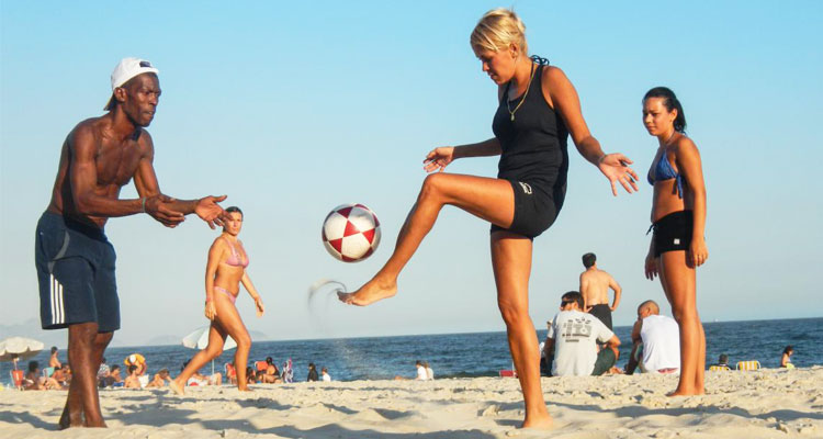 top beach team sports