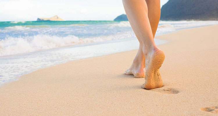 How to Protect Your Feet From Hot Sand