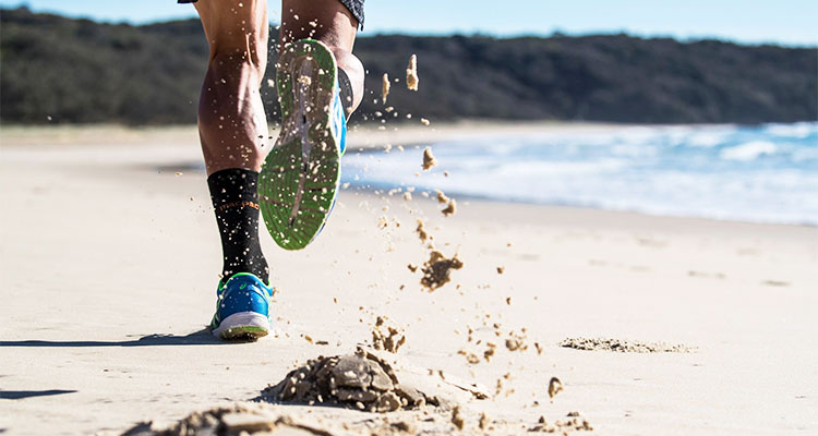 beach running techniques